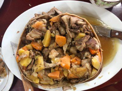 Необычное монгольское блюдо Боодог